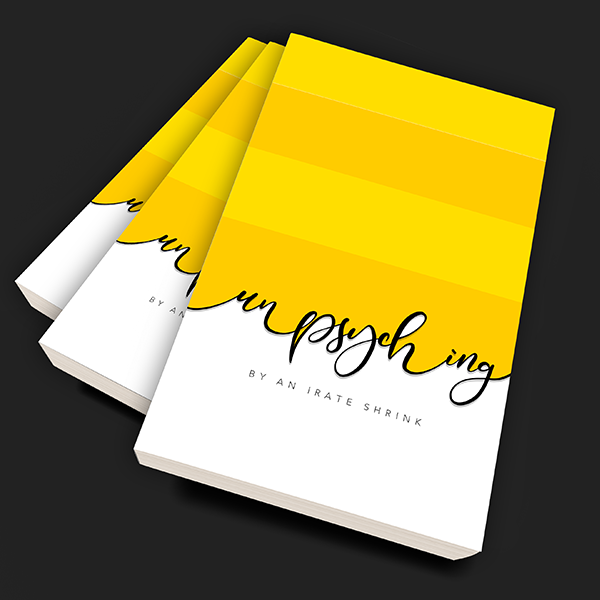 unpsyching book cover design suggestion 2 by Keon Designs