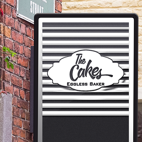 The Cakes Logo Designed by Keon Designs