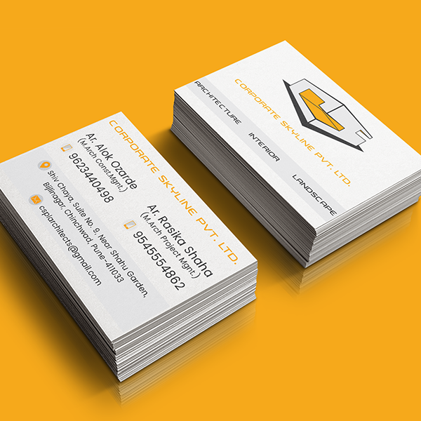 Corporate Skyline Visiting Card Designed by Keon Designs