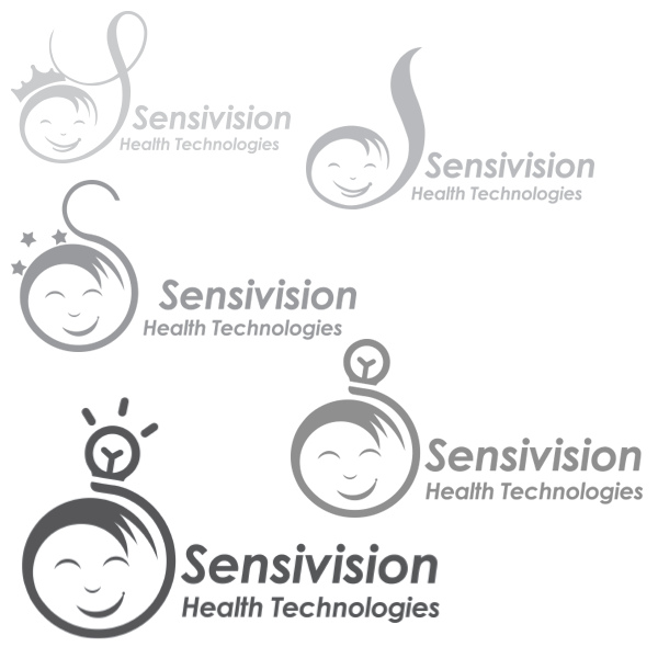 Sensivision Logo Design Suggestions 1 by Keon Designs