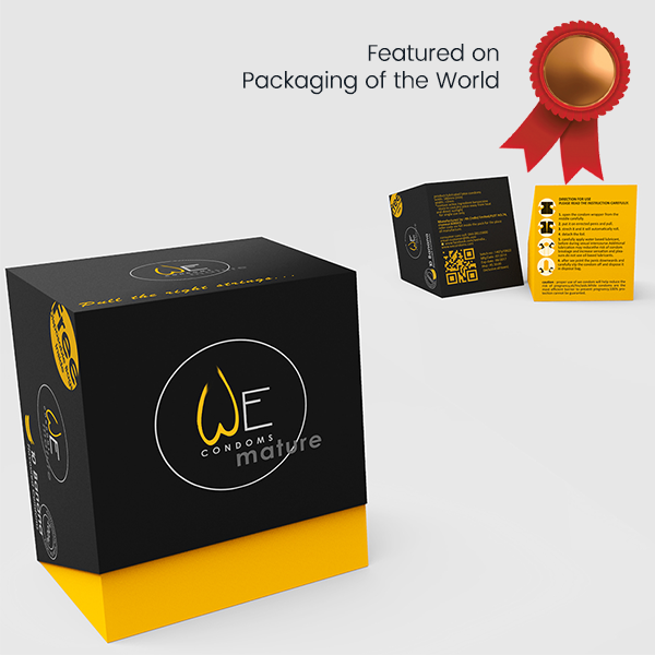Condom Packaging Mature 2 by Keon Designs